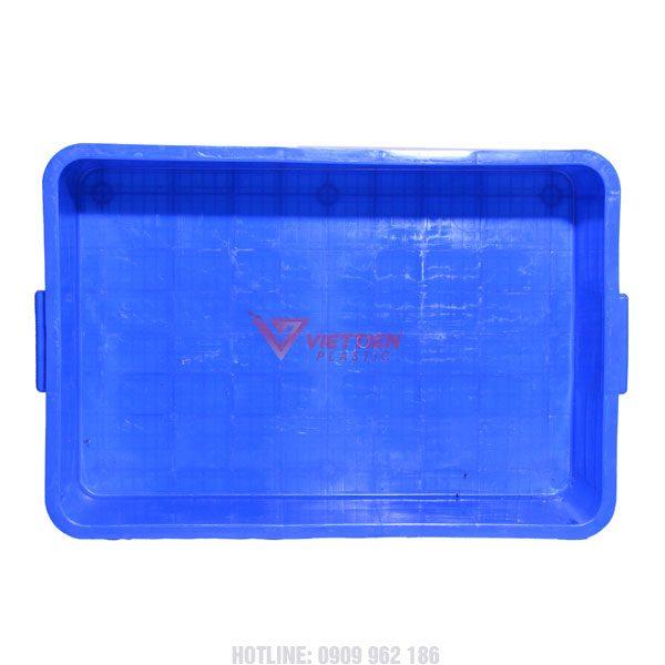 thùng nhựa đặc hs003 mặt trong