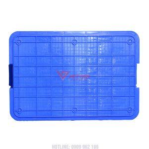 Thùng nhựa đặc hs003 đáy