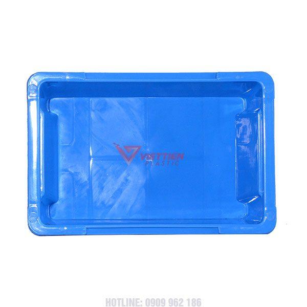 thùng nhựa đặc A4 mặt trong