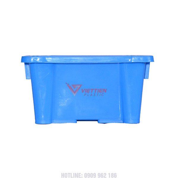 thùng nhựa đặc A4 tay cầm