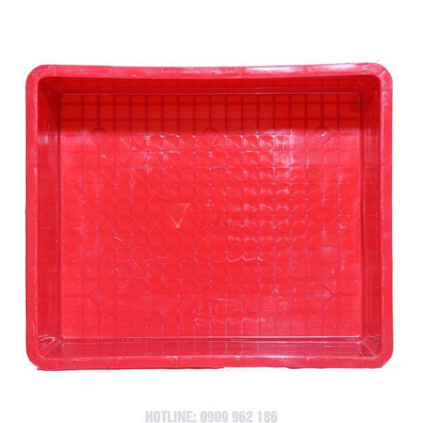 Thùng nhựa đặc KPT02 mặt trong