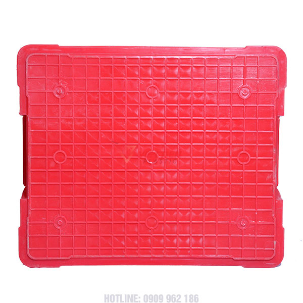 Thùng nhựa đặc KPT02 mặt đáy