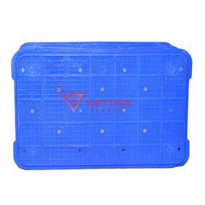 thùng nhựa rỗng hs004 mặt đáy