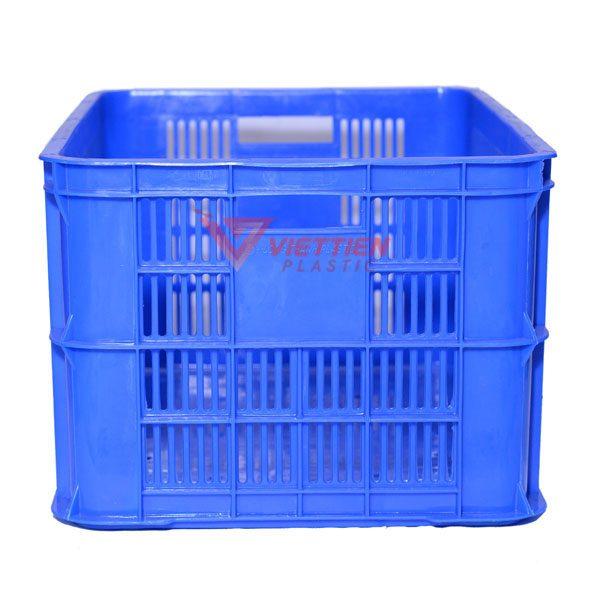 thùng nhựa rỗng hs004 tay cầm