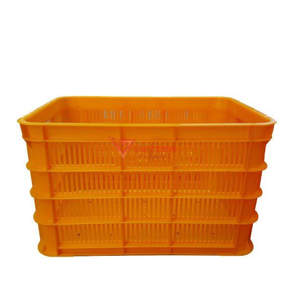 thùng nhựa rỗng hs012 mặt bên