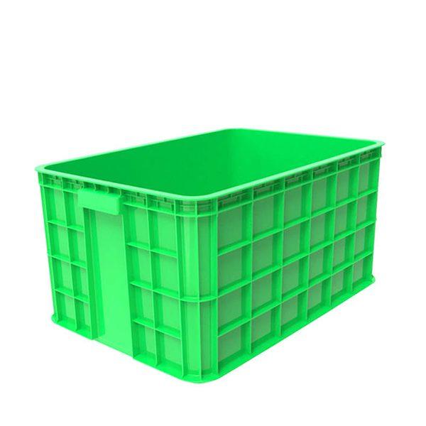 Thùng nhựa đặc HS019 xanh lá