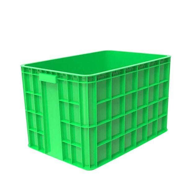 Thùng nhựa đặc HS026 xanh lá