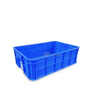 Thùng nhựa đặc HS003 xanh dương