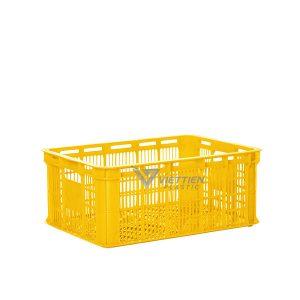 Thùng nhựa rỗng HS018 vàng