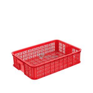 Thùng nhựa rỗng HS008 đỏ
