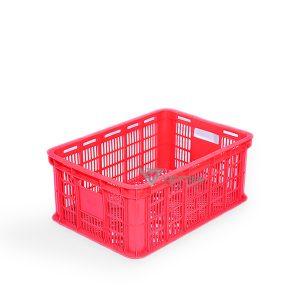 Sóng nhựa hở HS018 đỏ