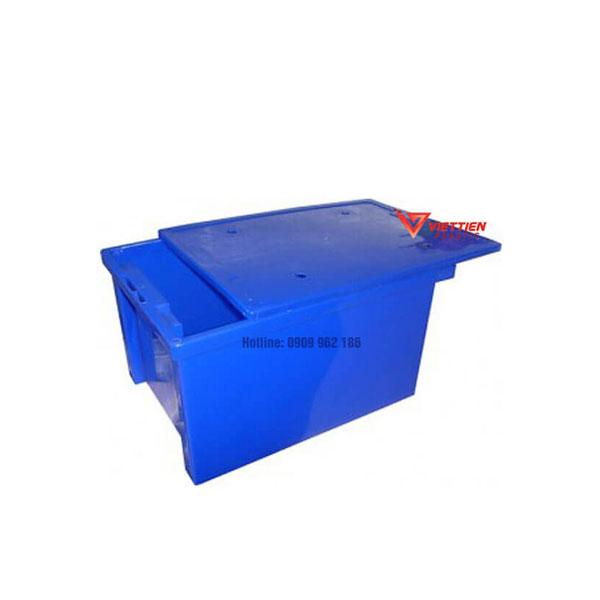 Thùng nhựa đặc có nắp T25