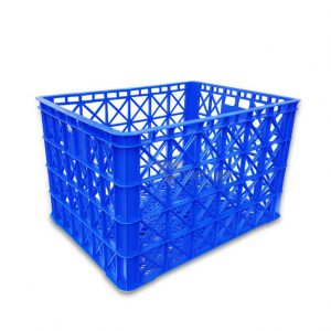 Thùng nhựa rỗng HS022 xanh dương