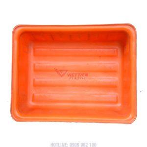 Thùng nhựa dung tích lớn màu cam