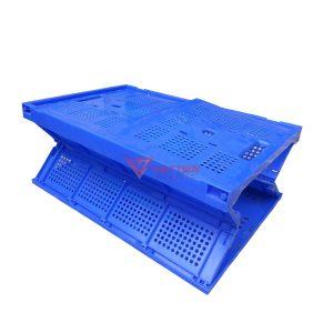 Thùng nhựa gập GX50 xếp chéo