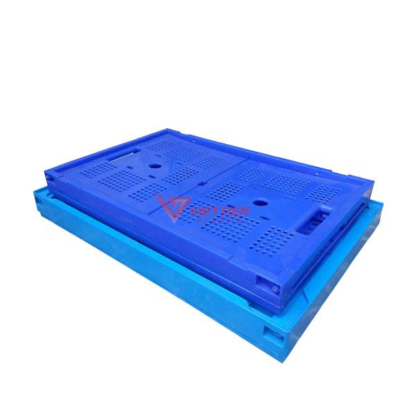 Thùng nhựa gập GX50 xếp chồng