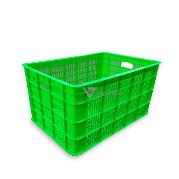 Thùng nhựa rỗng 8TR xanh lá