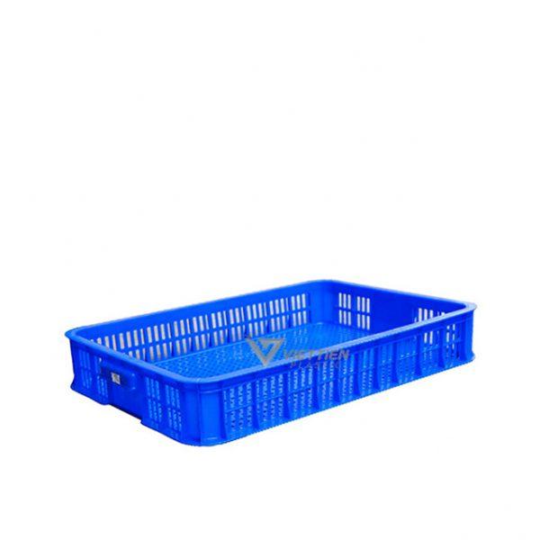 Thùng nhựa rỗng HS010 xanh dương