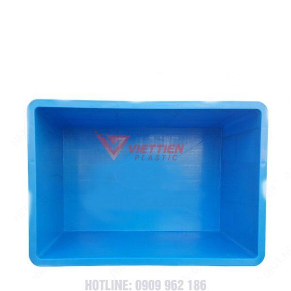 thùng nhựa đặc b5 mặt trong