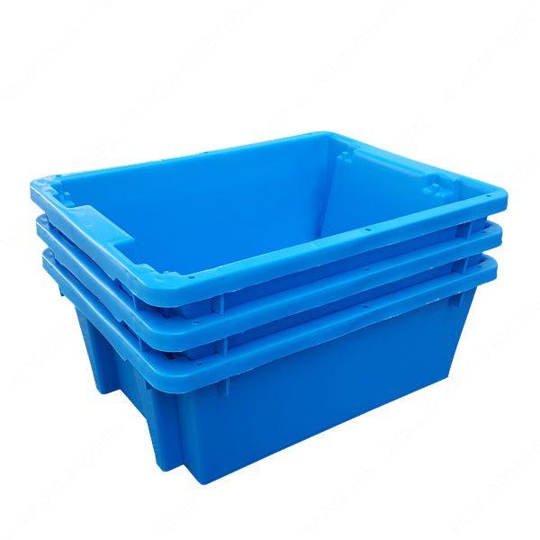 thùng nhựa đặc a7 xếp chồng