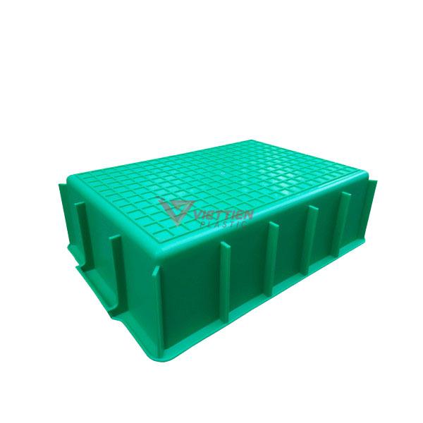 thùng nhựa đặc ym003 mặt đáy