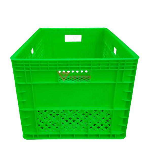 thùng nhựa rỗng hs013 tay cầm