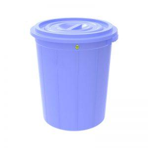 thùng tròn 160 lít xanh dương-1