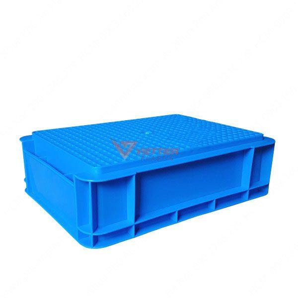 thùng nhựa đặc B12 - mặt đáy