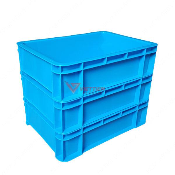 thùng nhựa đặc b12 xếp chồng