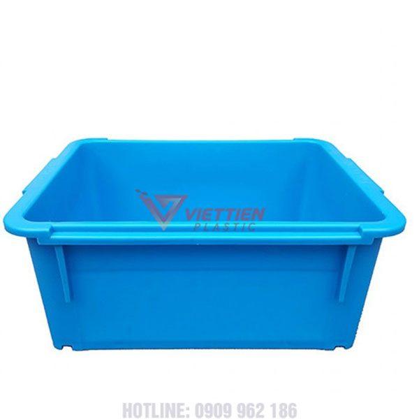 thùng nhựa đặc a3 mặt bên