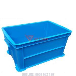 thùng nhựa đặc b6