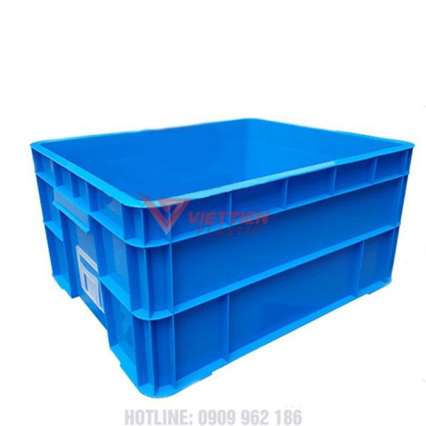 thùng nhựa đặc b8