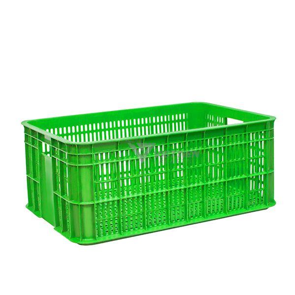 Thùng nhựa rỗng HS014 xanh lá