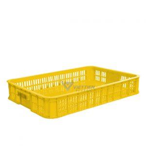Thùng nhựa rỗng HS010 vàng