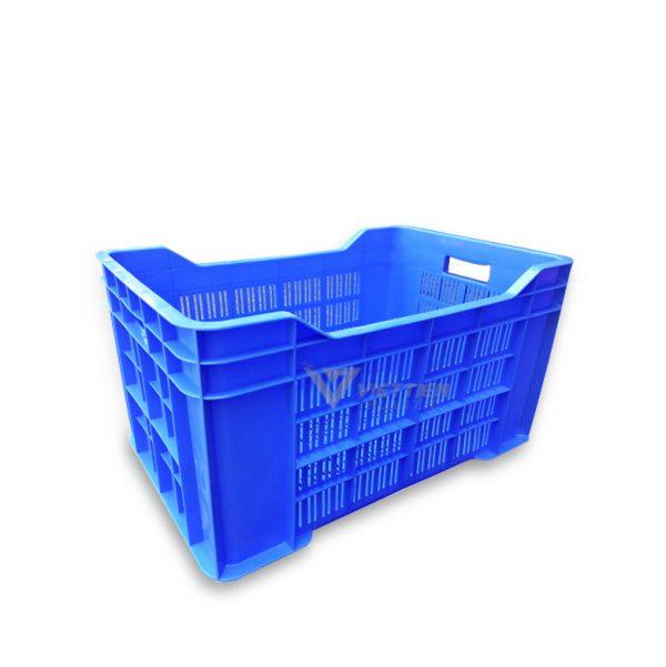 Thùng nhựa rỗng HS028 xanh dương
