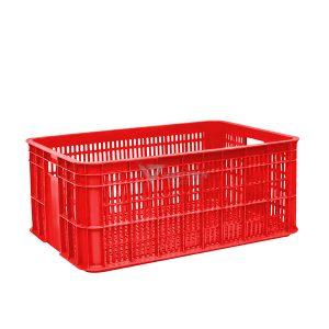 Thùng nhựa rỗng HS014 đỏ