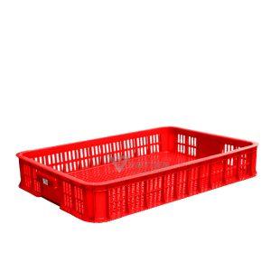 Thùng nhựa rỗng HS010 đỏ