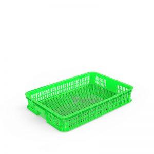 Thùng nhựa rỗng HS010 xanh lá