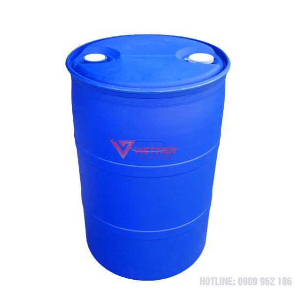 thùng phuy nhựa 220 lít đựng hóa chất