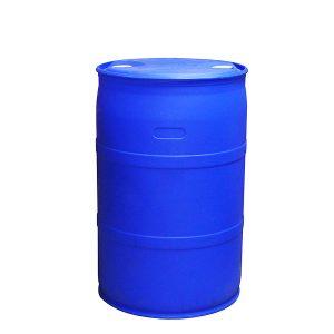 thùng phuy nhựa 220 lít màu xanh