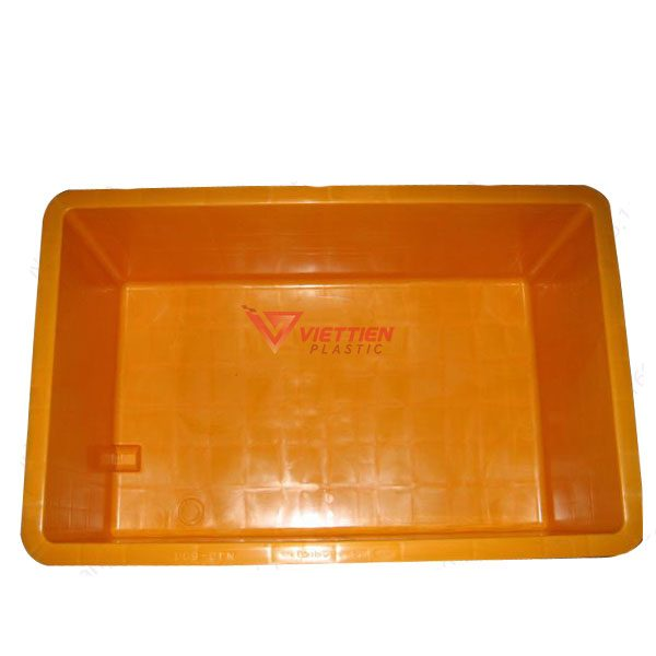Thùng Nhựa Đặc VJB600 Có Bánh Xe 3