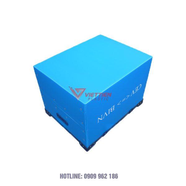 Thùng Nhựa Danpla Có Vách Ngăn VTV01 1