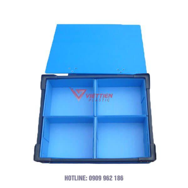 Thùng Nhựa Danpla Có Vách Ngăn (2)