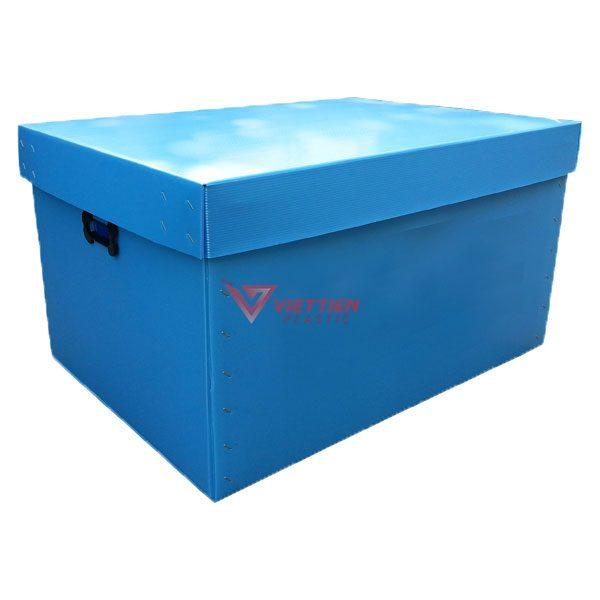 Thùng Nhựa Danpla có nắp VT03