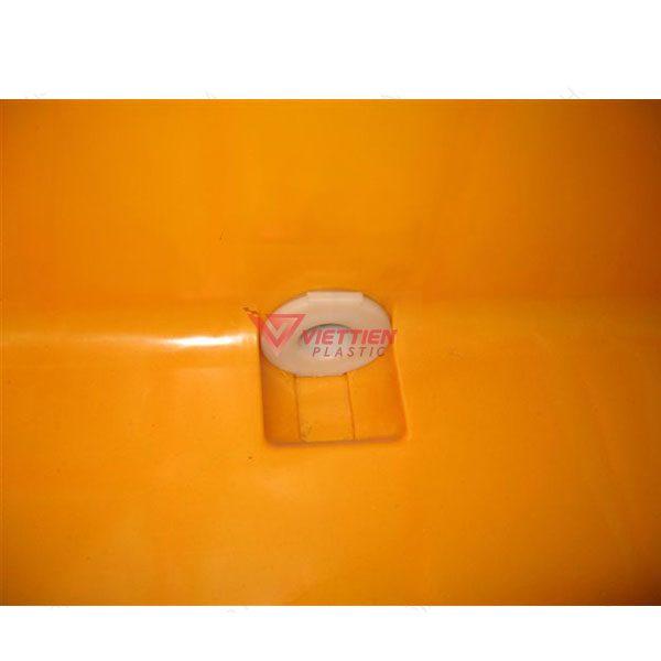 Thùng Nhựa Đặc VJB600 Có Bánh Xe 2