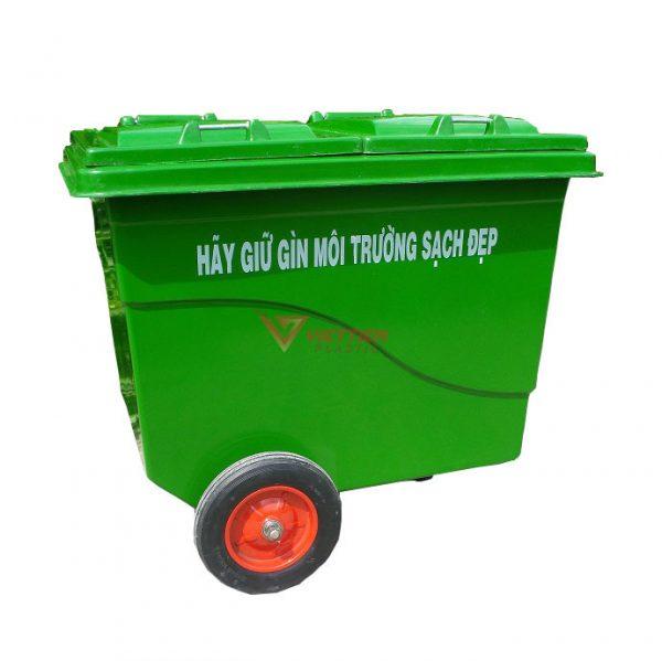thùng rác compostie 660 lít tp hcm