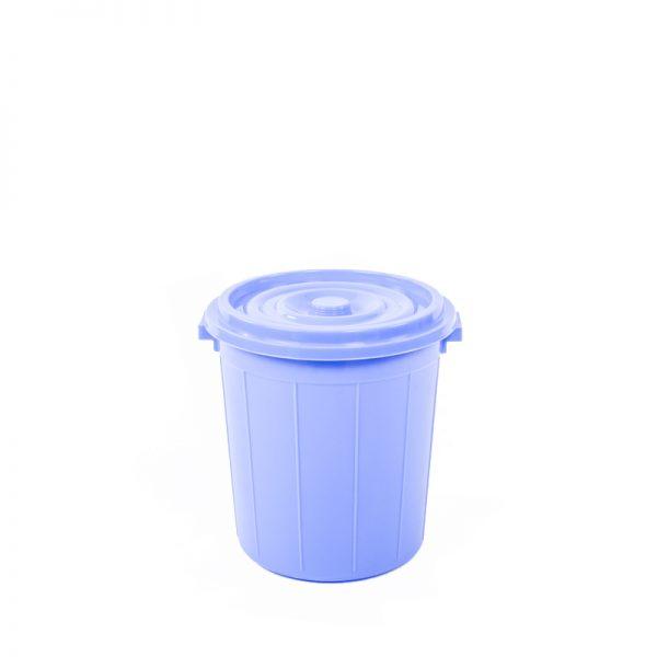 thùng tròn 25 lít xanh dương
