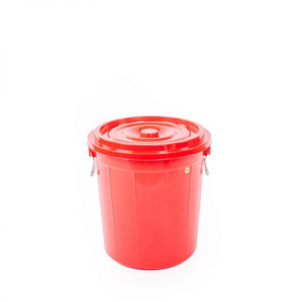 thùng tròn 35l đỏ