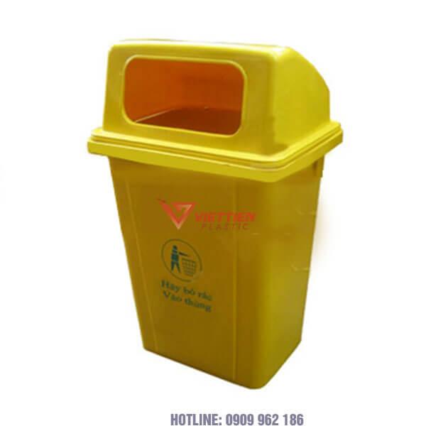 Thùng rác y tế nắp hở 95 lít