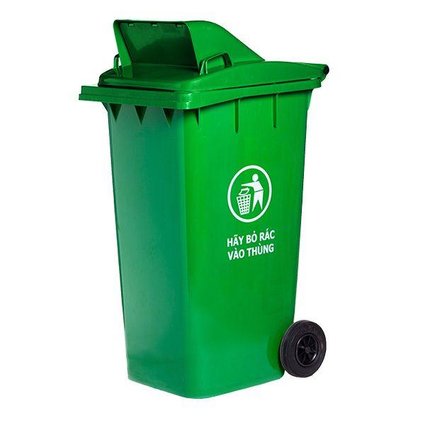 Thùng rác nắp hở 240 lít